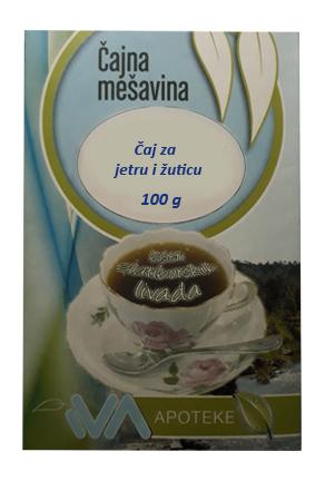 Čaj za jetru i žuticu