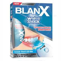 BLANX WHITE SHOCK tretman pasta za izbeljivanje zuba + LED BITE