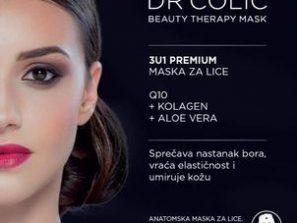 3 u 1 PREMIUM maska za lice sa q10, kolagenom i aloevera
