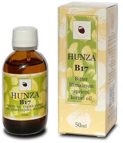 HUNZA Ulje od gorkih semenki kajsije sa B17- 50ml