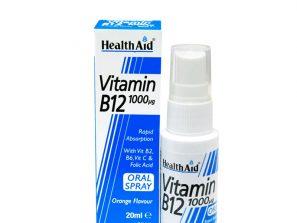 Dodatak ishrani sa vitaminom B12 u spreju