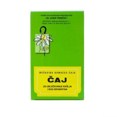 Čaj za ublažavanje kašlja i kod bronhitisa